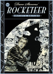 Dave Steven's The Rocketeer Artist's Edition cover