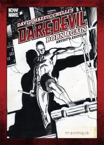 David Mazzucchelli's Daredevil Born Again Artist's Edition