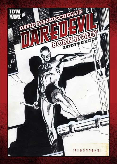 Review | David Mazzucchelli's Daredevil Born Again: Artist's Edition