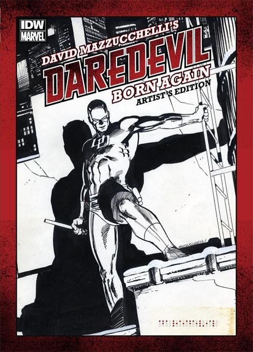 Review | David Mazzucchelli's Daredevil Born Again: Artist's Edition