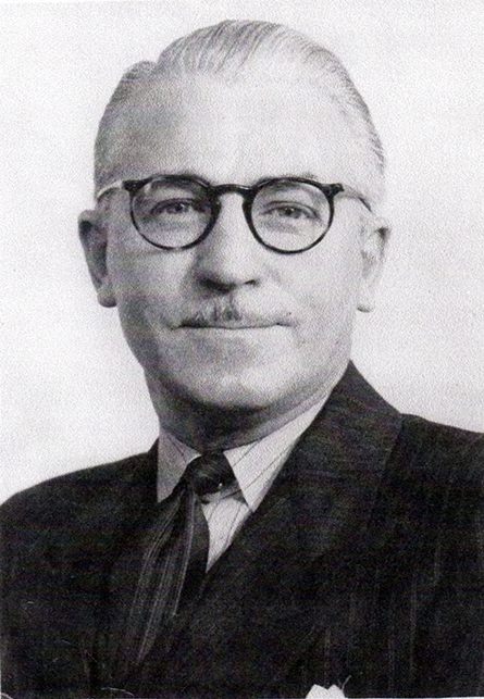 E. R. (Ted) McCall, President of the Scarborough Golf Club in the mid-fifties