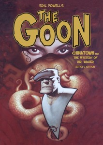 Eric Powell's The Goon Artist's Edition cover