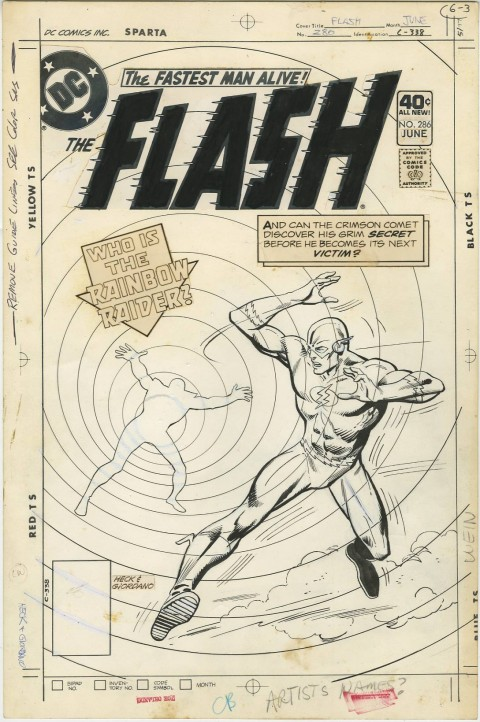 Flash issue 286 cover by Don Heck.  Source.