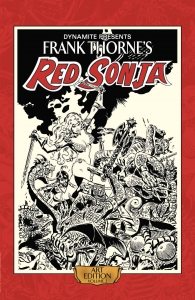 Frank Thorne's Red Sonja Art Edition Vol 2 cover