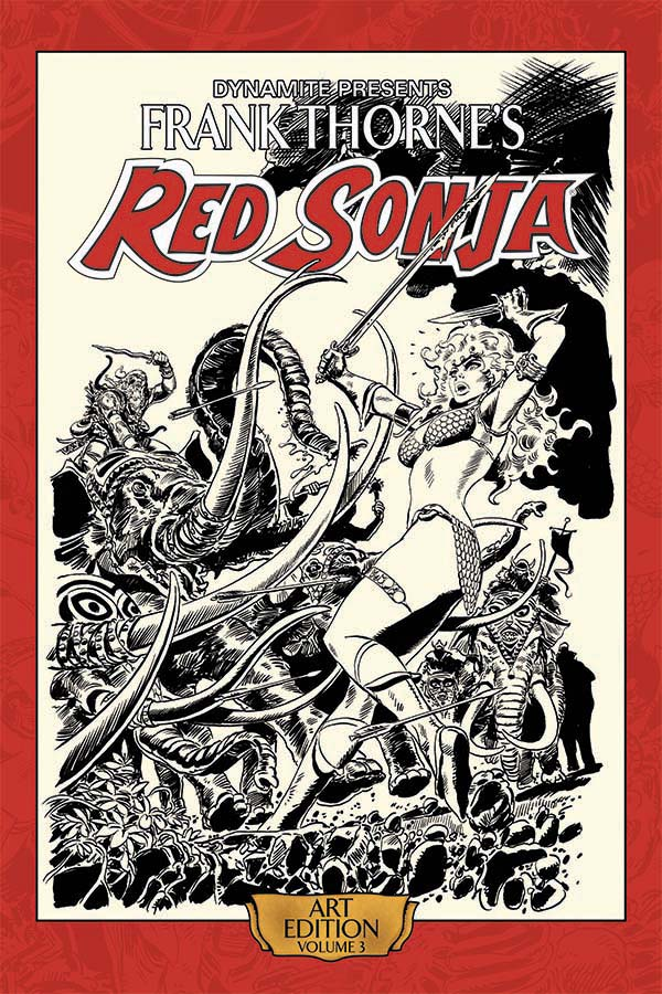 Review | Frank Thorne's Red Sonja Art Edition Vol 3