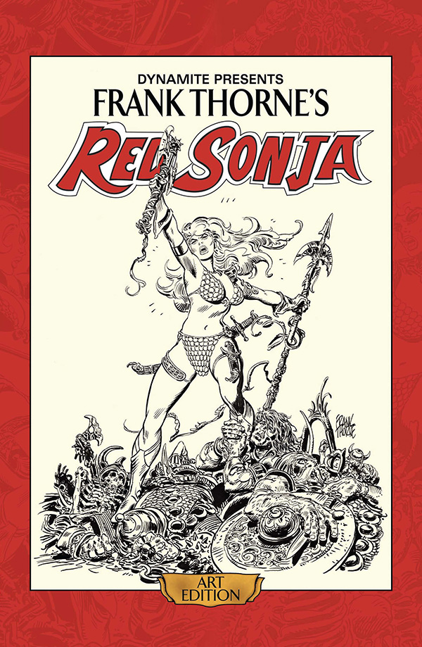 Review | Frank Thorne's Red Sonja Art Edition Vol 1