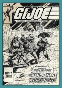 G.I. Joe A Real American Hero Artist's Edition cover prelim