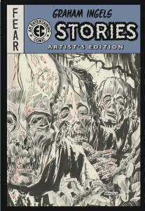 Graham Ingels EC Stories Artist's Edition cover prelim