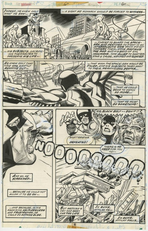 Inhumans issue 6 page 6 by Gil Kane and Frank Clairmonte.  Source.