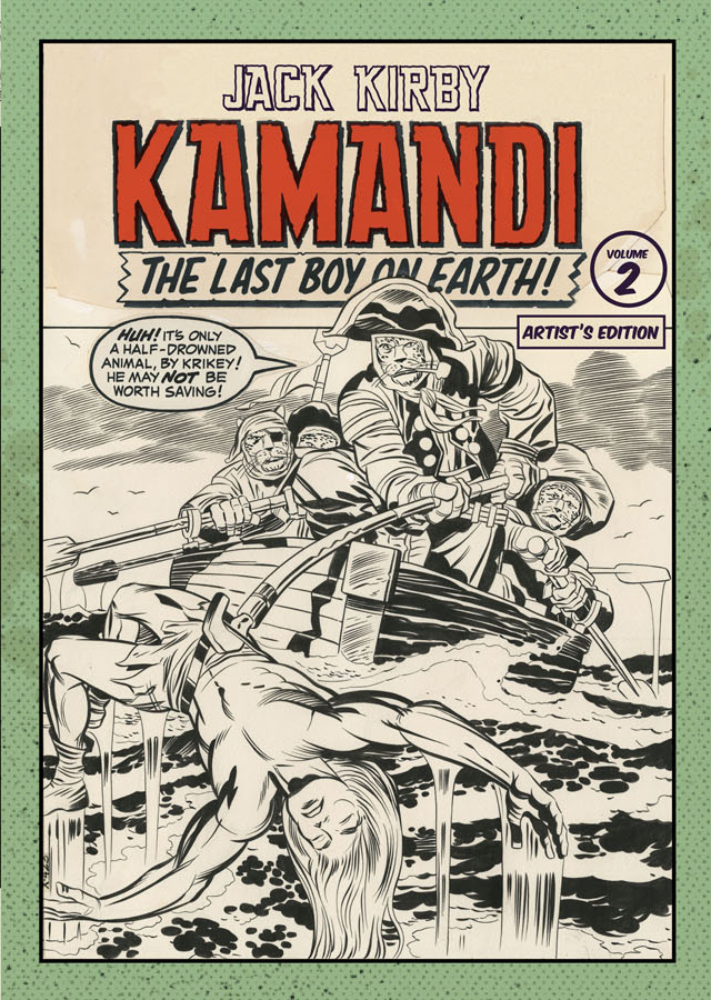 Review | Jack Kirby Kamandi The Last Boy On Earth Artist's Edition Volume 2