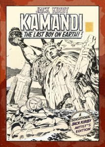 Jack Kirby Kamandi The Last Boy On Earth Artist's Edition prelim cover