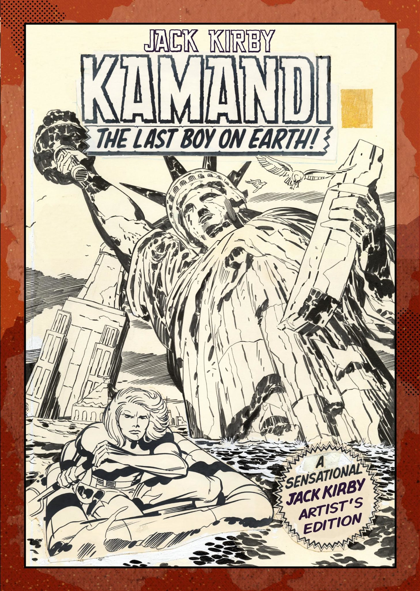 Review | Jack Kirby Kamandi The Last Boy On Earth Artist's Edition Vol 1