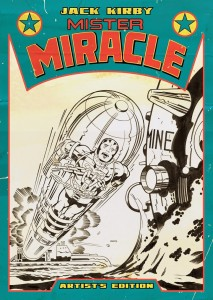 Jack Kirby Mister Miracle Artist's Edition cover