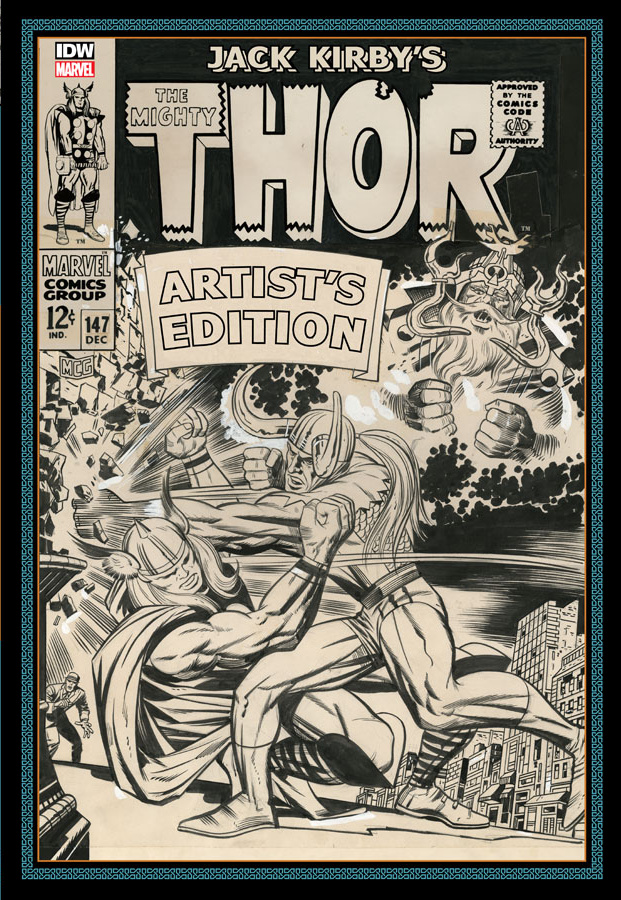 Review | Jack Kirby's The Mighty Thor Artist's Edition