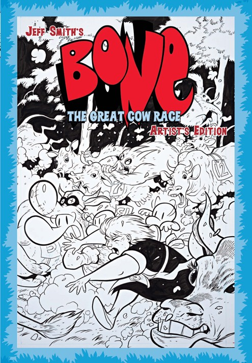 Review   Jeff Smith's Bone: The Great Cow Race Artist's Edition