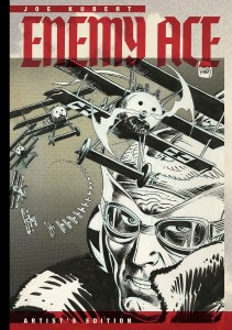 Joe Kubert's Enemy Ace Artist's Edition cover