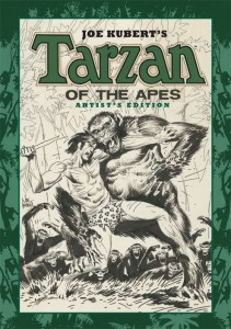 Joe Kubert's Tarzan of the Apes Artist's Edition cover