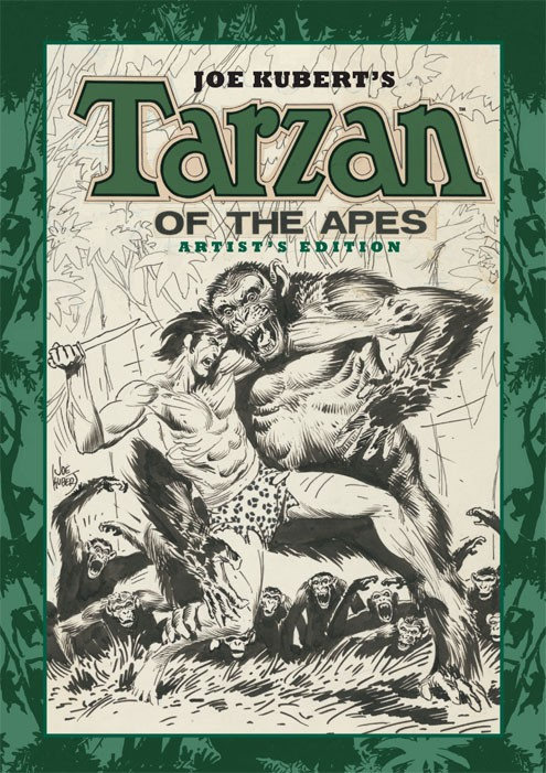 Review | Joe Kubert's Tarzan Of The Apes Artist's Edition