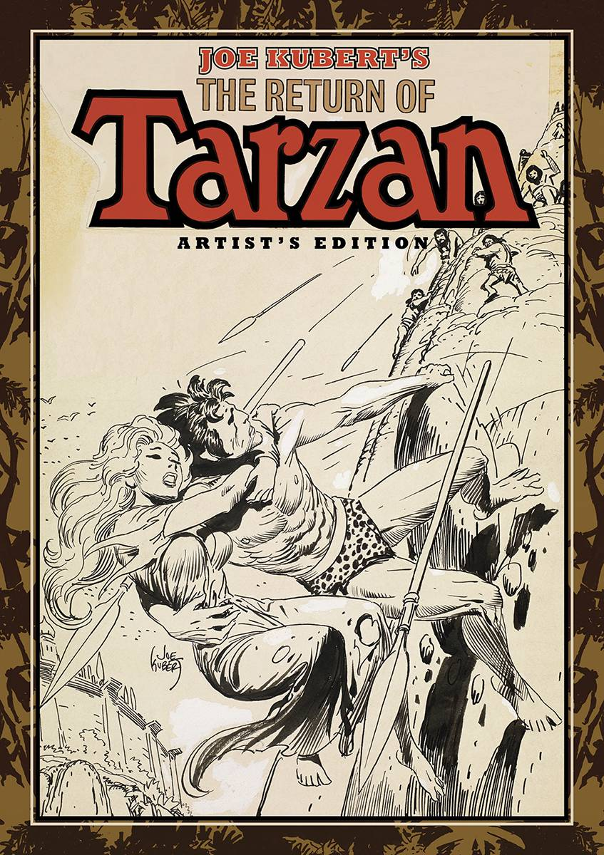 Review | Joe Kubert's The Return Of Tarzan Artist's Edition