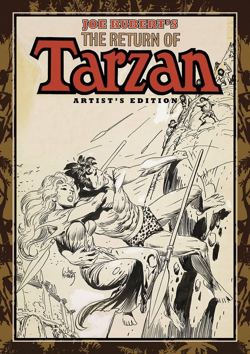 Review | Joe Kubert's The Return Of Tarzan Artist's Edition