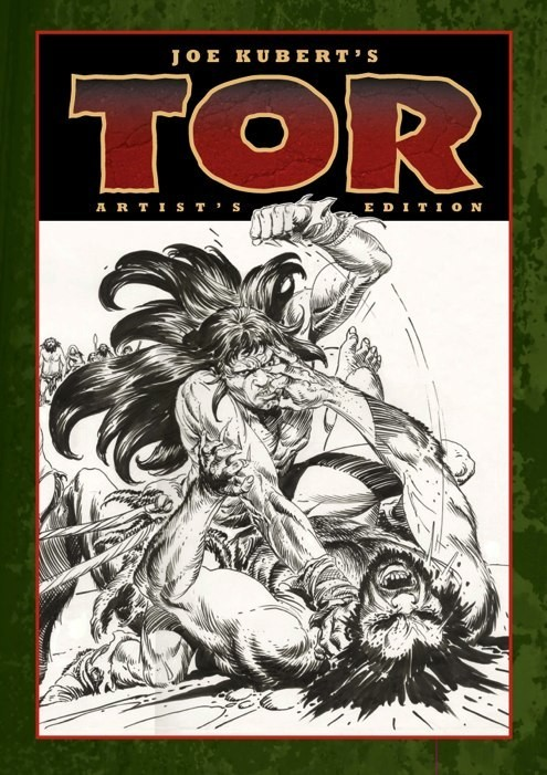 Review | Joe Kubert's Tor Artist's Edition
