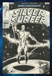 John Buscema's Silver Surfer Artist's Edition cover