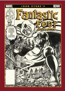 John Byrne's Fantastic Four Artist's Edition cover