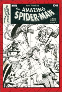 John Romita's The Amazing Spider-Man Artist's Edition Volume 2 cover