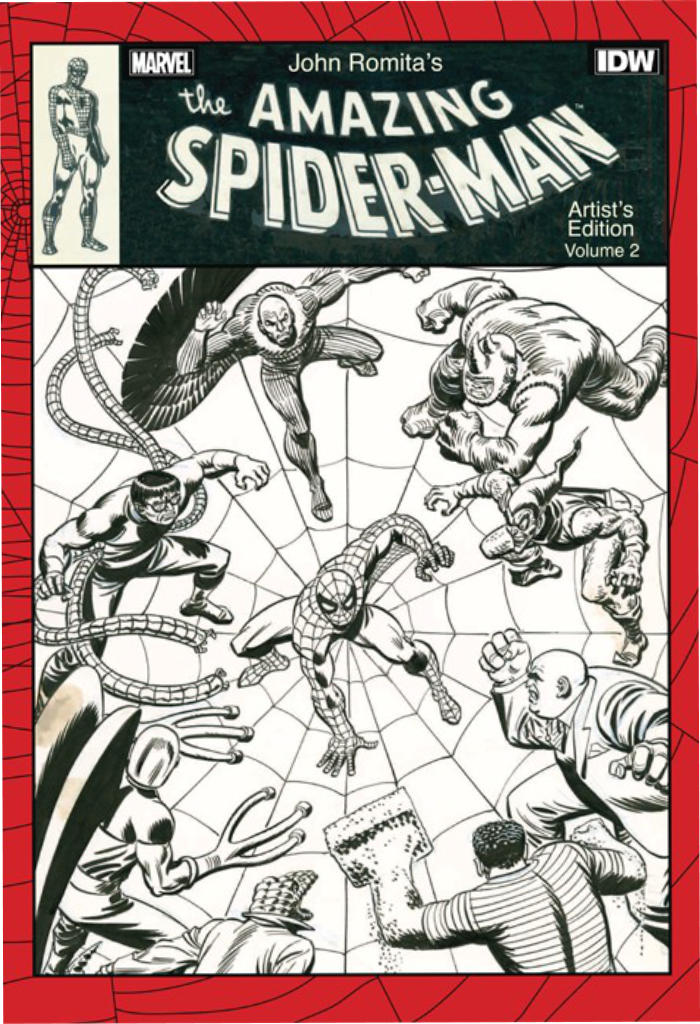 Review | John Romita's The Amazing Spider-Man Artist's Edition Vol 2