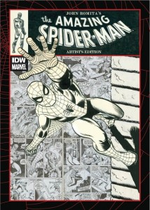 John Romita's The Amazing Spider-Man Artist's Edition cover