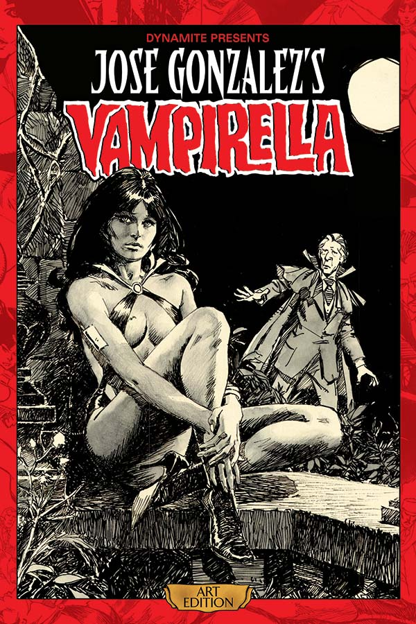 Review | Jose Gonzalez's Vampirella Art Edition Vol 1