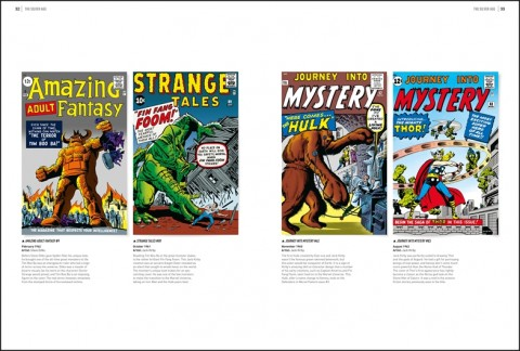 Marvel Comics 75 Years of Cover Art interior 1