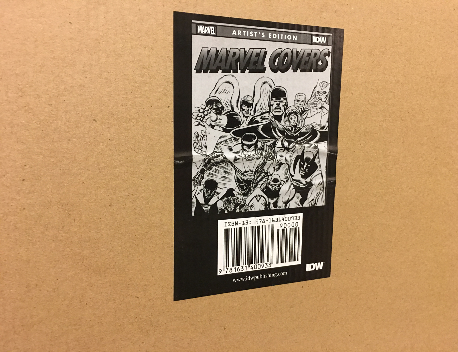 Review | Marvel Covers Artist's Edition