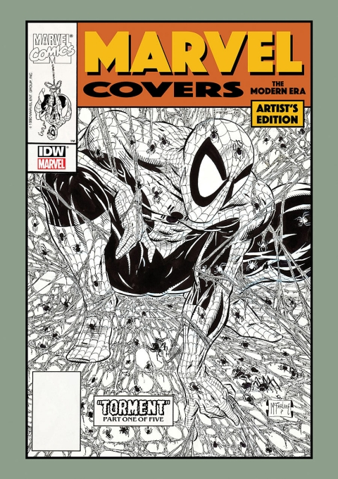 Marvel Covers The Modern Era Artist's Edition cover McFarlane prelim