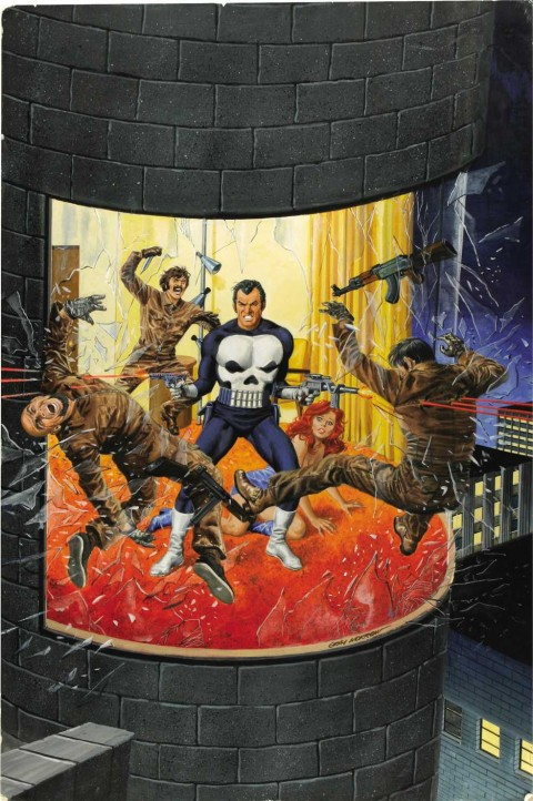 Marvel Preview Magazine issue 2 cover by Gray Morrow.  Source.