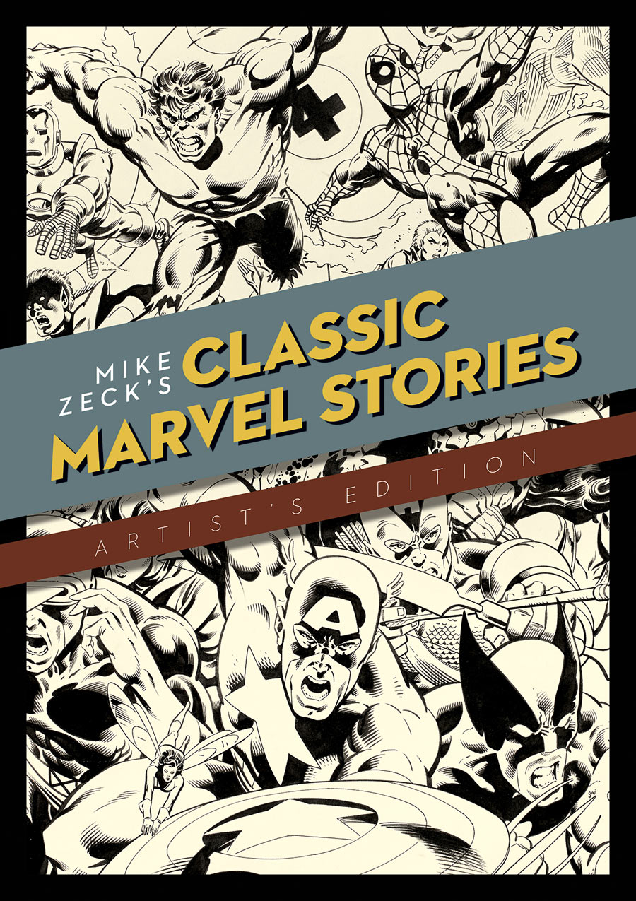Review | Mike Zeck's Classic Marvel Stories Artist's Edition