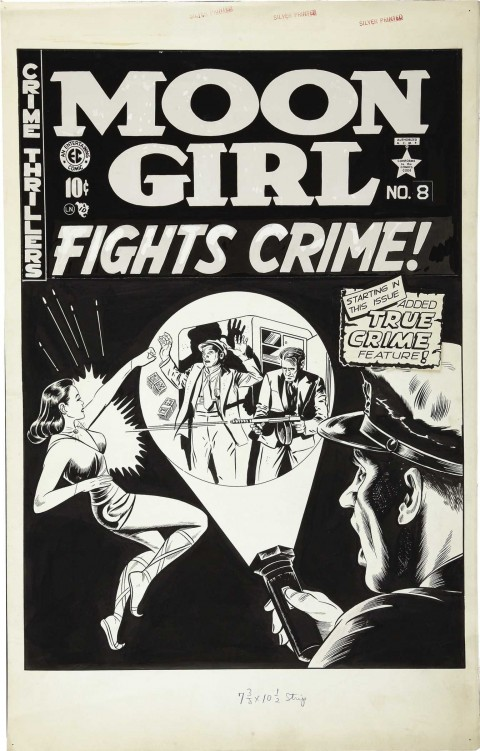 Moon Girl Fights Crime issue 8 cover by Sheldon Moldoff.  Source.
