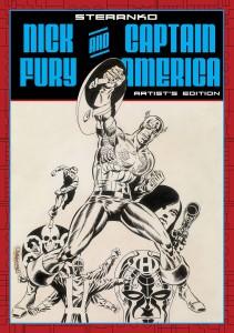Steranko Nick Fury and Captain America Artist's Edition Cap Cover