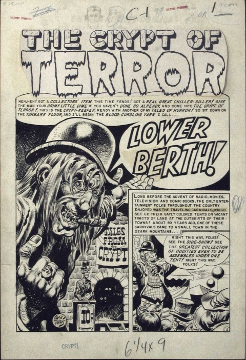 Tales from the Crypt issue 33 page by Jack Davis.  Source.