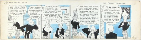Terry and the Pirates daily 5-24-35 by Milton Caniff.  Source.