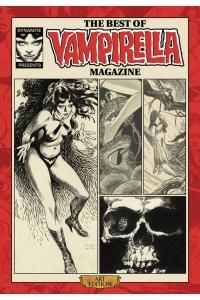 The Best Of Vampirella Magazine Art Edition cover prelim