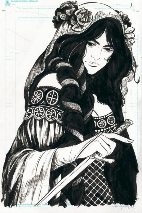 The Mire promo by Becky Cloonan.  Source.