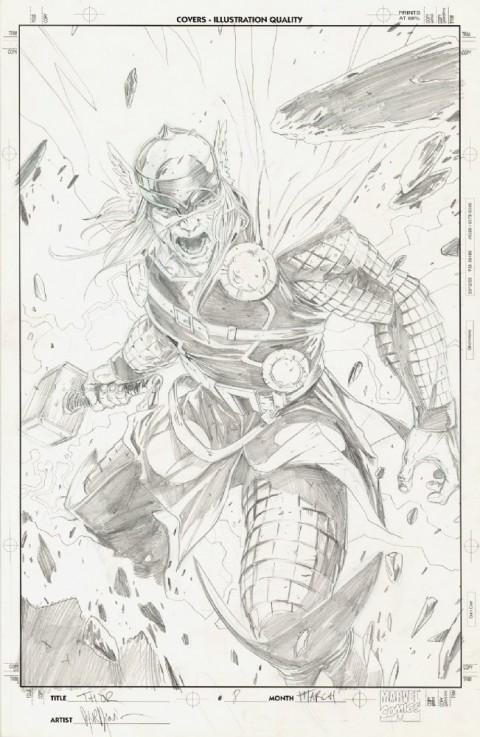 Thor by Marko Djurdjevic.  Source.