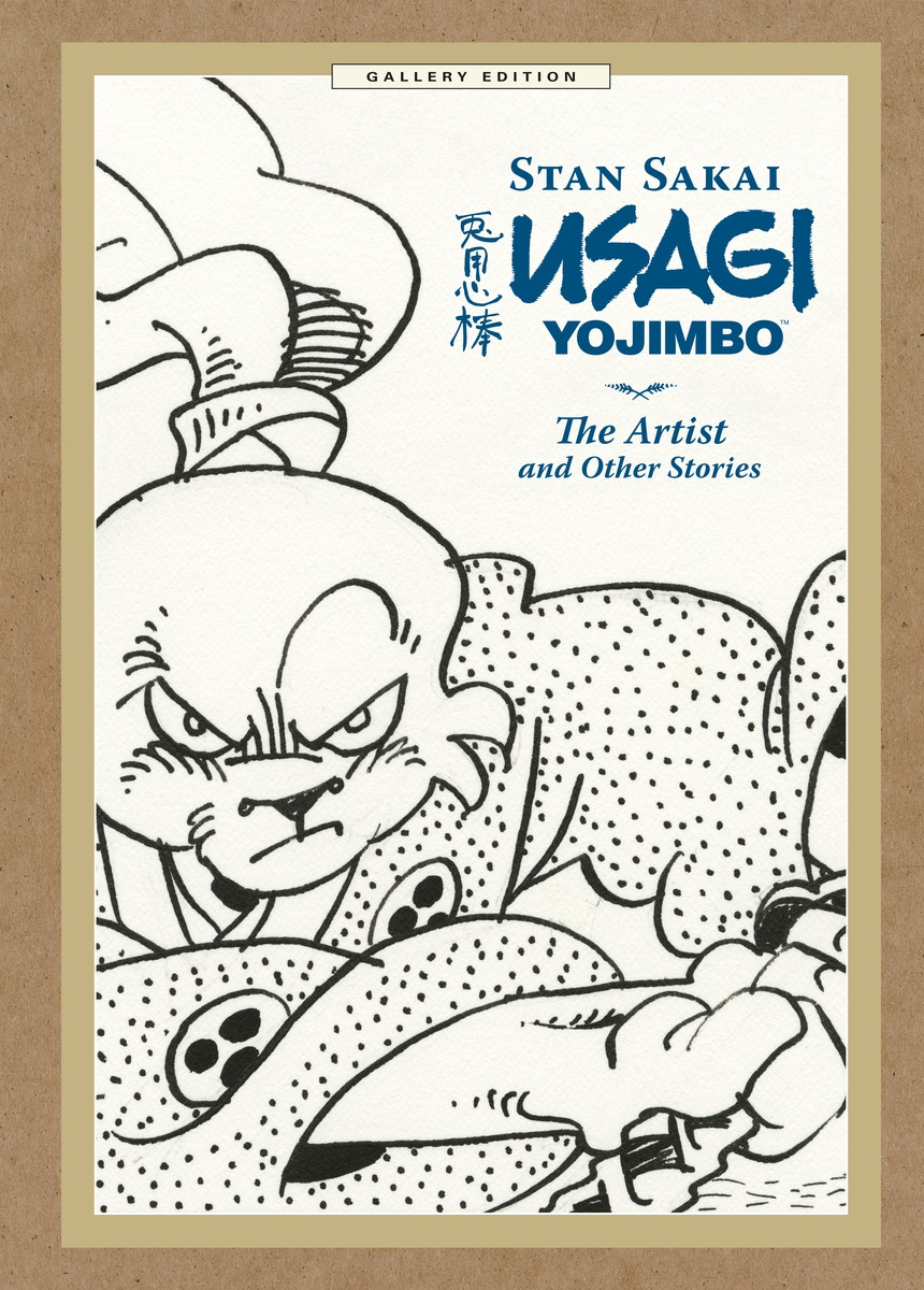 Preview | Usagi Yojimbo: The Artist and Other Stories Gallery Edition