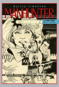 Walter Simonson's Manhunter and Other Stories Artist's Edition cover