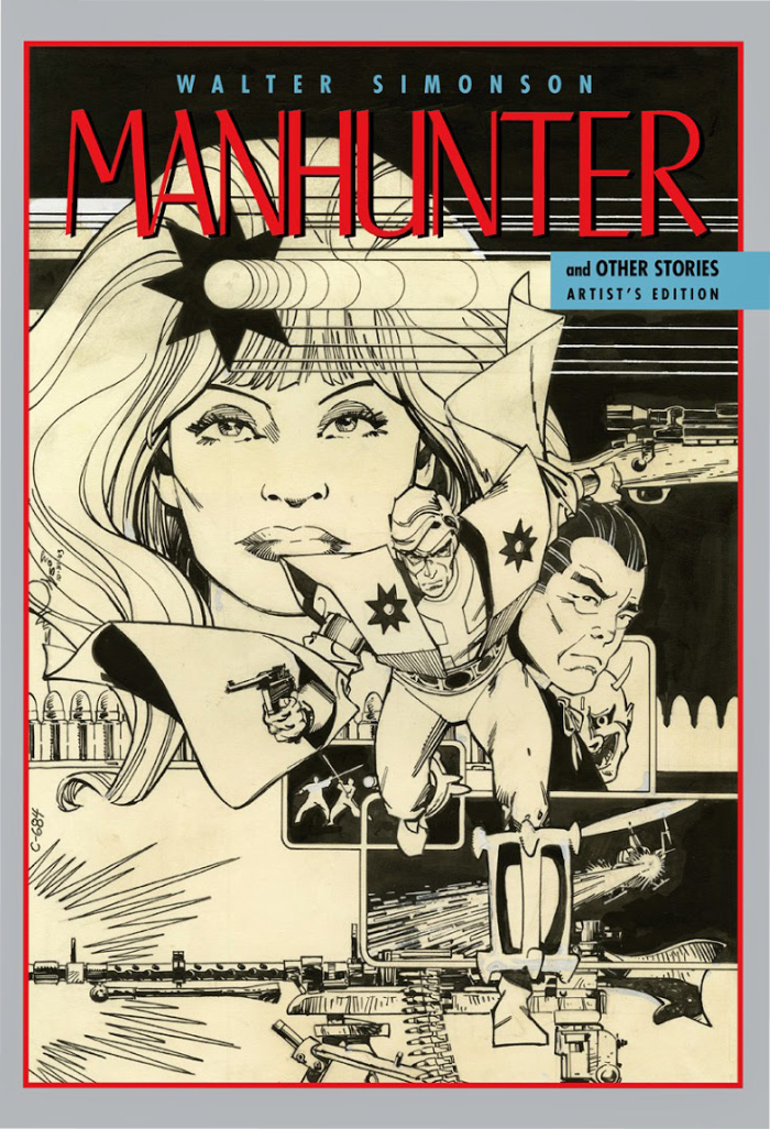 Walter Simonson Manhunter & Other Stories Artist's Edition