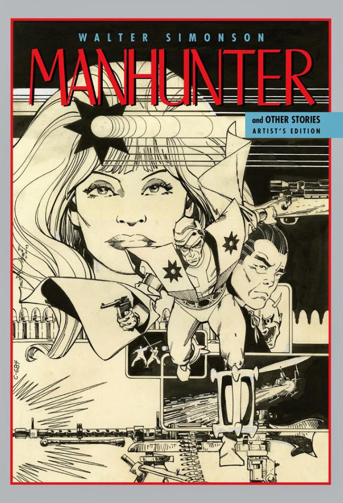 Walter Simonson Manhunter & Other Stories Artist's Edition