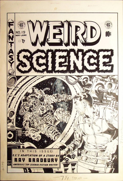 Weird Science issue 19 cover by Wally Wood.  Source.