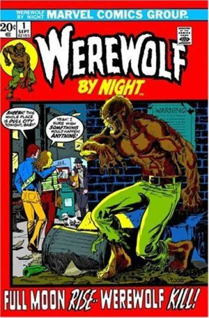 Full Moon Terror! Marvel Spotlight & Werewolf by Night