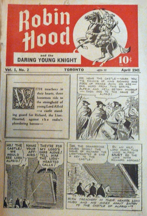 Robin Hood Vol. 1 No. 2
